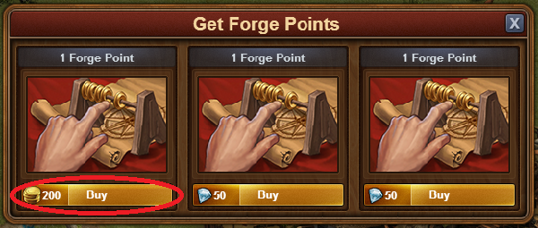 Buy Forge Points