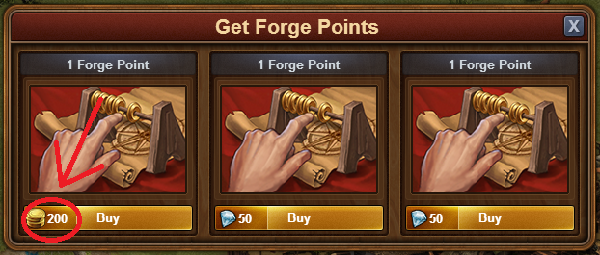 Forge Point Price