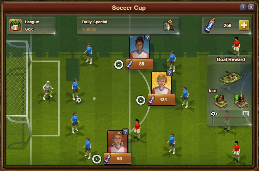 Forge Of Empires Soccer Cup 2019, Soccer Field