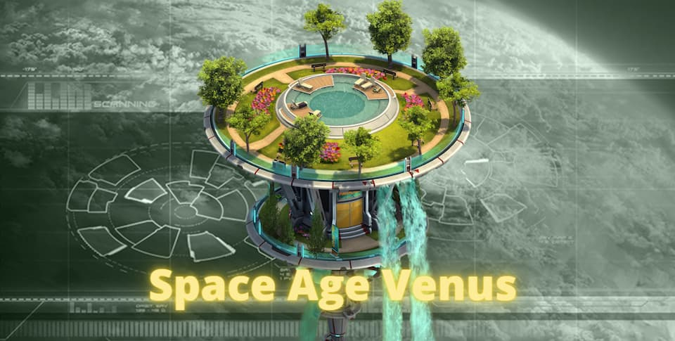 Forge Of Empires Space Age Venus Great Building Flying Island