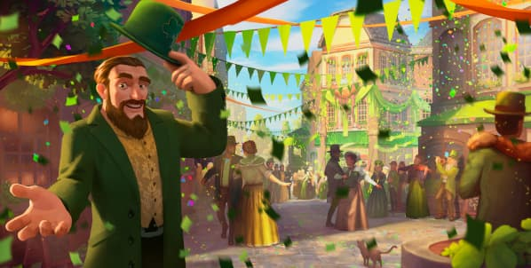 Forge of Empires St. Patrick's Day Event 2020