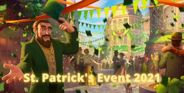 Forge Of Empires St. Partick's event 2021